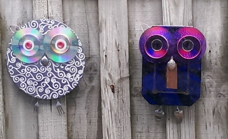 Recycled Metal Object Critters