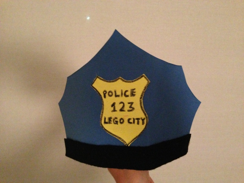 Policeman's Hat - My Kid Craft