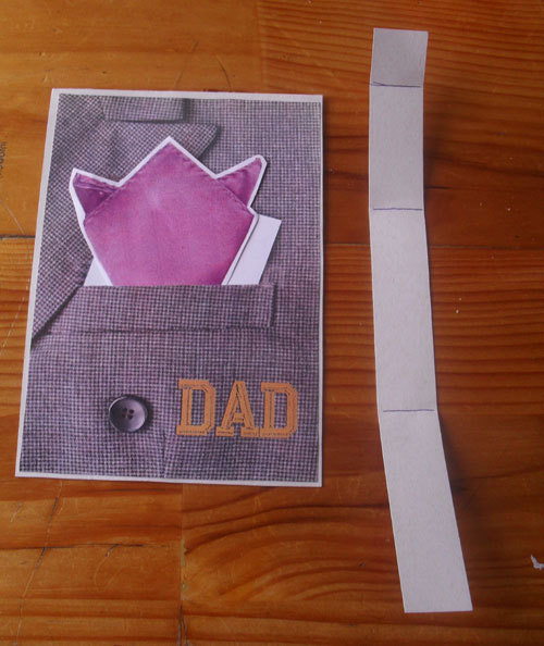 Pocket Dad's Day Card