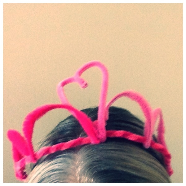 Valentine's Day Head Piece