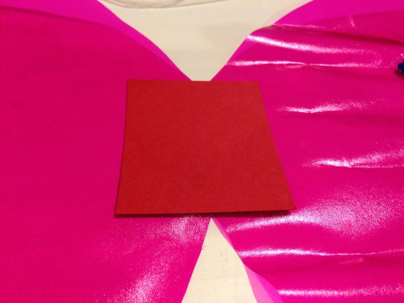 Card to strengthen homemade wings  - Dress Up Butterfly Wings