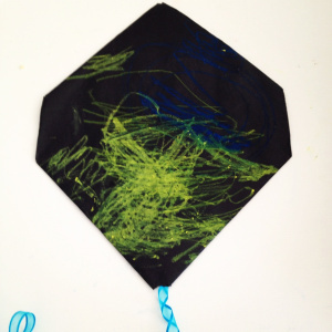 Coloured in kite