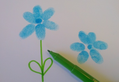 Fingerprint Flowers