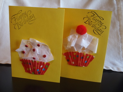 Cupcake Birthday Cards My Kid Craft