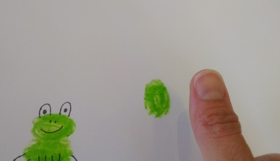 Frogs, Fingerprints
