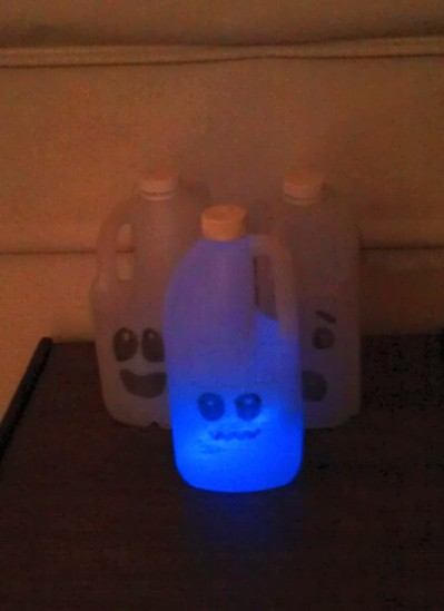 Ghost bottle craft