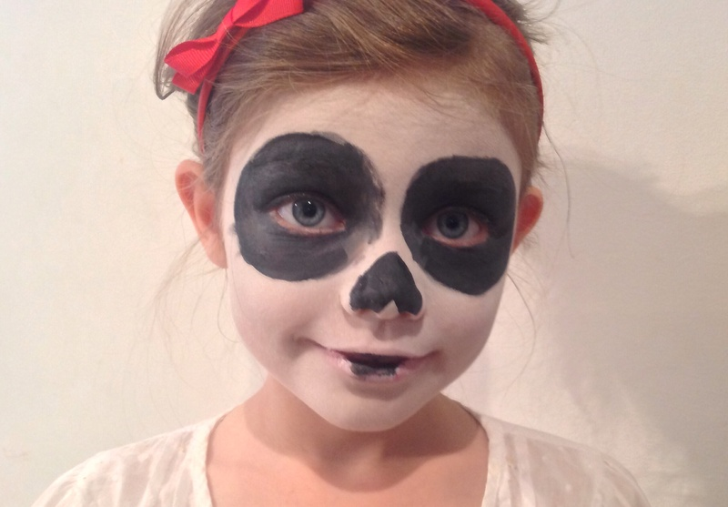 halloween day of the dead sugar skull face paint day of the dead face paint image 6 - Halloween Day Of The Dead Face Paint