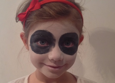 Halloween, day of the dead, sugar skull, face paint