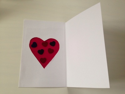 Heart, heart craft, valentines craft
