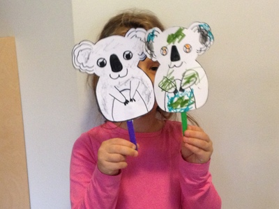 Paper Animal Puppets