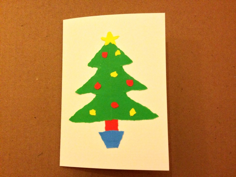 Christmas Card Craft Ideas My Kid Craft