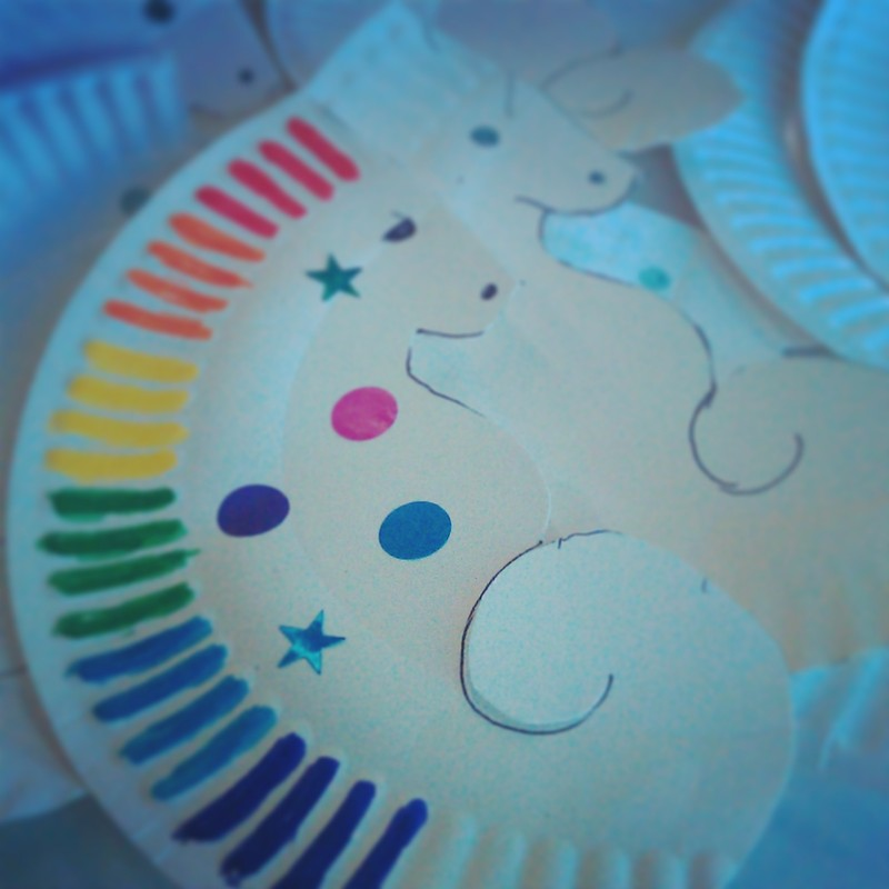 Decorative Seahorses  sc 1 st  My Kid Craft & Paper Plate Craft Ideas - My Kid Craft