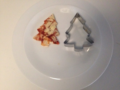 Pizza cookie cutter