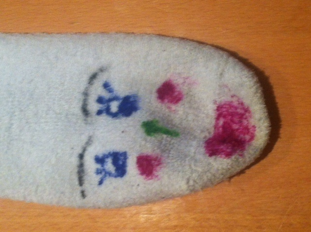 Puppet, old scks, odd sock, create, decorate, reuse