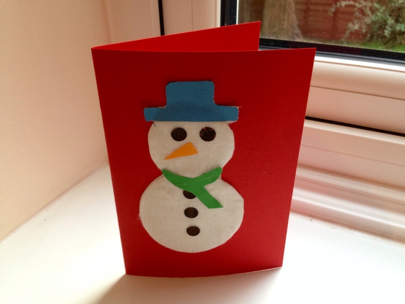 Ideas For Christmas Cards For Children To Make Part - 24: My Kid Craft