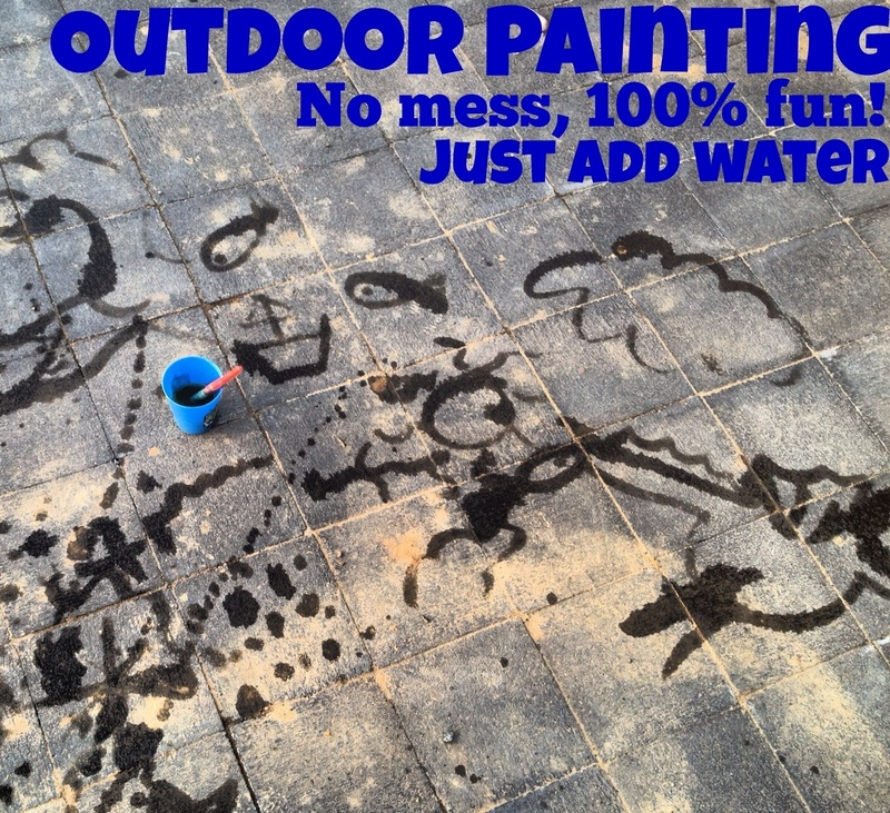 Water painting   - No Mess Outdoor Painting