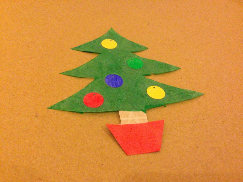 Christmas tree christmas tree craft xmas tree craft christmas craft
