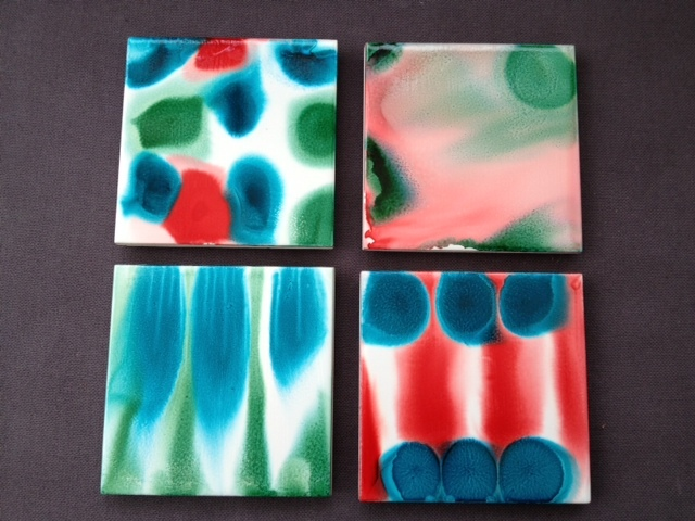 alcohol ink, coasters, craft, gift