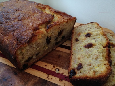 Banana bread, easy, simple, kids