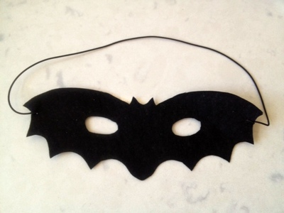 bat mask, easy halloween mask, easy kids halloween costume, homemade fancy dress halloween, bat costume, homemade bat mask