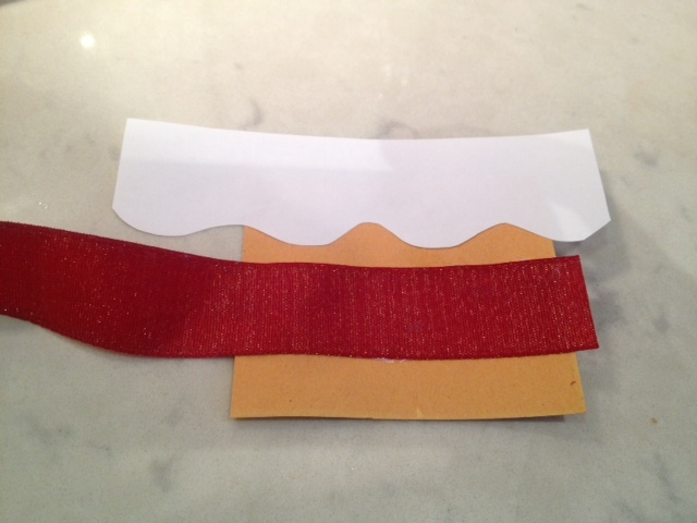 making slit in card - Pop Up Birthday Cake Card - Image 4