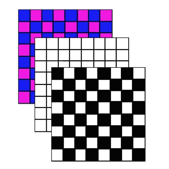 boardgames,checkers,draughts  - Printable Draughts or Checkers Board