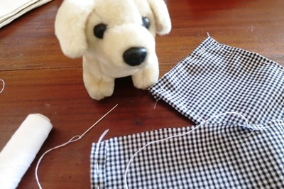 kids' sewing project