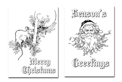 christmas colouring,digital colouring,santa,father christmas