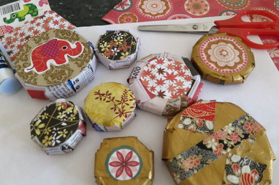 Handmade Xmas decorations