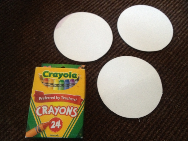 coaster, drinks coaster, quick kids craft idea  - What's For Dinner? Coasters