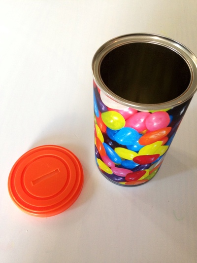 Coffee tin money box, money box, money box tutorial, money tin, homemade money box, kids craft money box