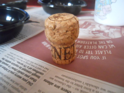 cork, barney rubble, the flintstones, craft