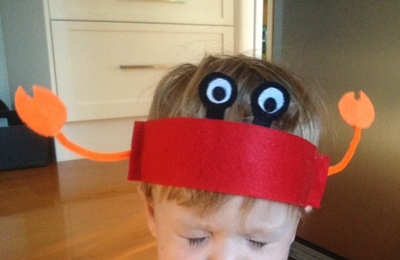 Snappy Crab Hat My Kid Craft
