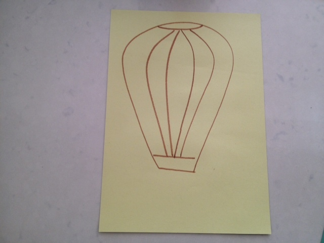 crumpled paper batik, crumpled paper ball