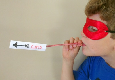 cupids arrow, valentines day craft
