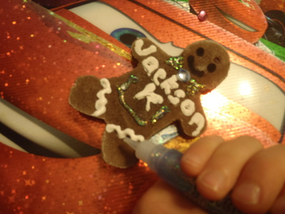 Final gingerbread man