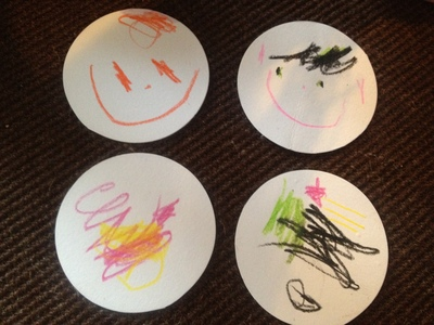 coaster, drinks coaster, quick kids craft idea