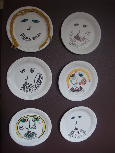 Paper Plate People & Paper Plate People - My Kid Craft
