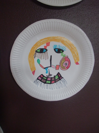 #Paper Plates · #Colouring · #Faces · #People & Paper Plate People - My Kid Craft