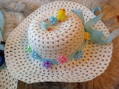 Easter bonnet, ribbon