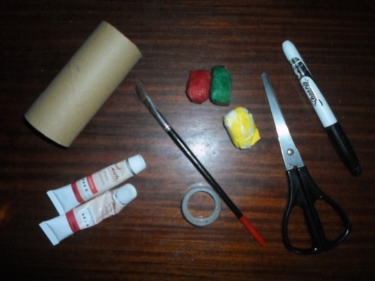 easter bunny craft materials  - Toilet Roll Easter Bunny