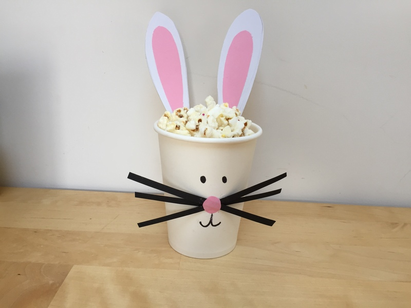 Easter, bunny craft  - Easter Rabbit Cups