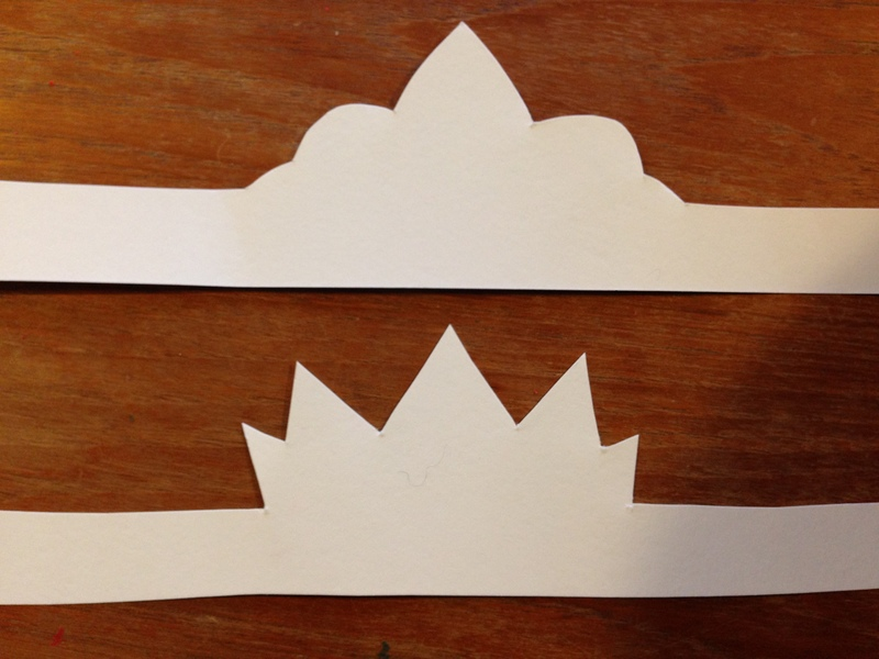 How to make a paper princess crown 28 images how to for Art and craft crown