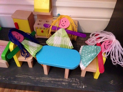 Easy homemade dolls for dolls house, dolls house dolls, homemade dolls, cheap