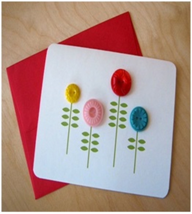 Eco Friendly Greeting Cards Craft Ideas For Kids Image 4