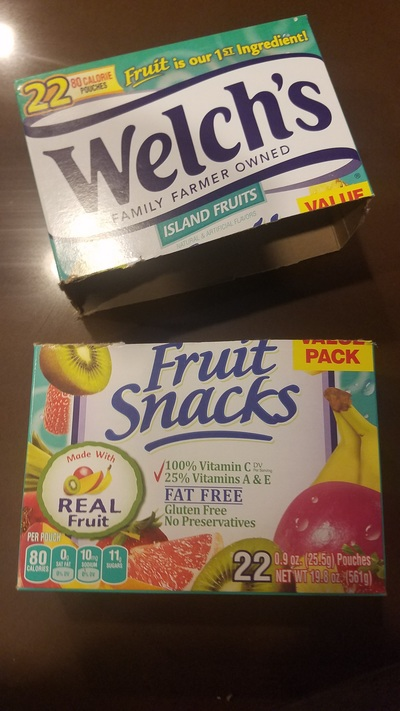 Empty Snack Box