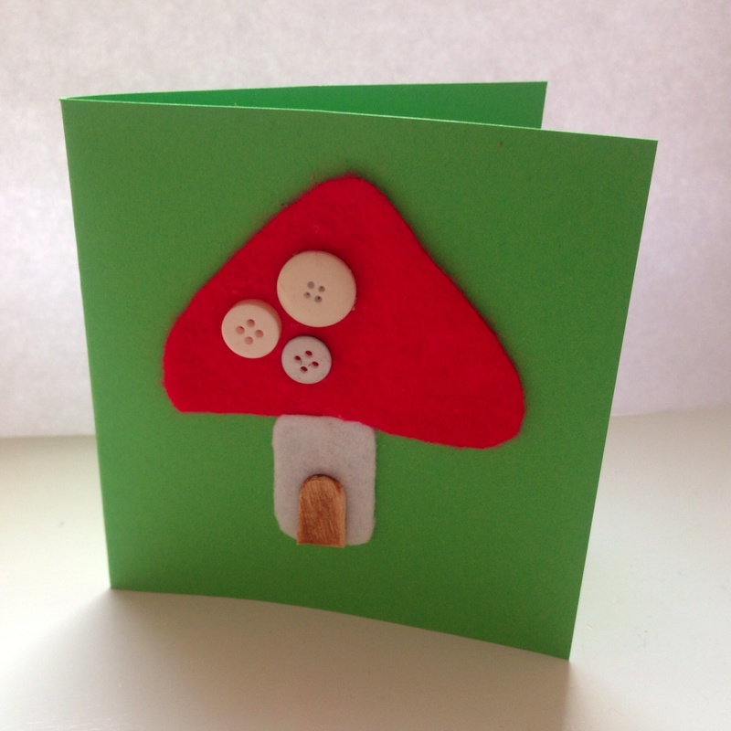 Greetings card craft ideas my kid craft fairy toadstool birthday card m4hsunfo