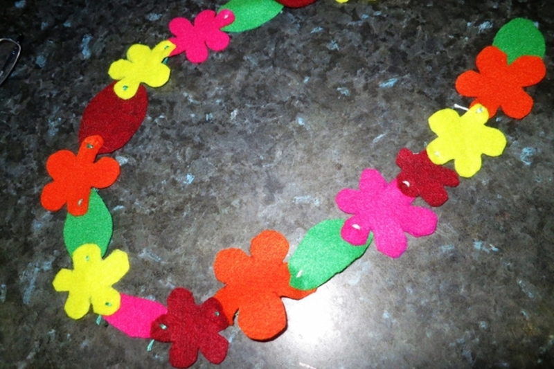 kids' sewing craft