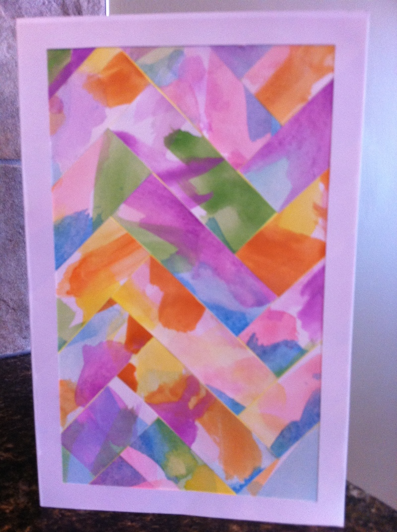 Finished card