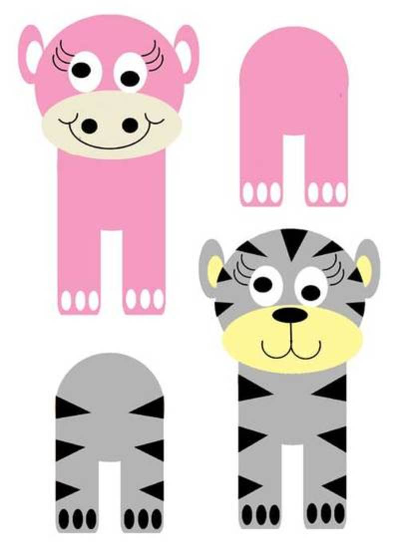 printables for easy animal crafts my kid craft
